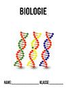 Biologie Deckblatt DNA Stränge