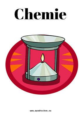 Chemie Deckblatt Gasbrenner