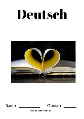 Deutsch Deckblatt Gedichte