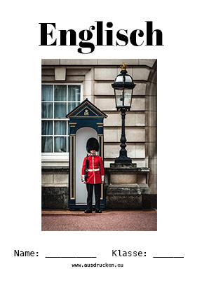 Englisch Deckblatt London