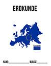 Erdkunde Deckblatt Europa
