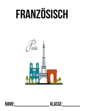 Hier kannst du dir jetzt dein gesuchtes Deckblatt Französisch Hefter schnell und einfach erstellen und kostenlos ausdrucken. Mit deinem persönlichen Deckblatt für deine Hefter, Schulordner und Mappen bist du super organisiert und behältst stehst den Überblick.