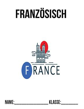 Hier kannst du dir jetzt dein gesuchtes Französisch Deckblätter schnell und einfach erstellen und kostenlos ausdrucken. Mit deinem persönlichen Deckblatt für deine Hefter, Schulordner und Mappen bist du super organisiert und behältst stehst den Überblick.