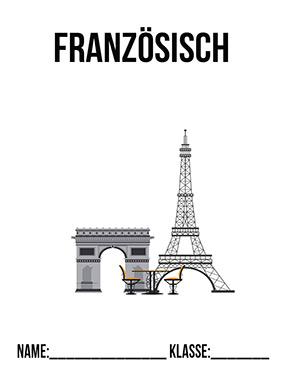 Hier kannst du dir jetzt dein gesuchtes Französisch Deckblatt Klasse 8 schnell und einfach erstellen und kostenlos ausdrucken. Mit deinem persönlichen Deckblatt für deine Hefter, Schulordner und Mappen bist du super organisiert und behältst stehst den Überblick.