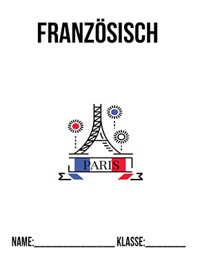 Hier kannst du dir jetzt dein gesuchtes Französisch Deckblatt schnell und einfach erstellen und kostenlos ausdrucken. Mit deinem persönlichen Deckblatt für deine Hefter, Schulordner und Mappen bist du super organisiert und behältst stehst den Überblick.