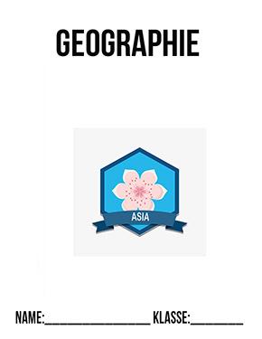 Hier kannst du dir jetzt dein gesuchtes Deckblatt Geographie Asien schnell und einfach erstellen und kostenlos ausdrucken. Mit deinem persönlichen Deckblatt für deine Hefter, Schulordner und Mappen bist du super organisiert und behältst stehst den Überblick.
