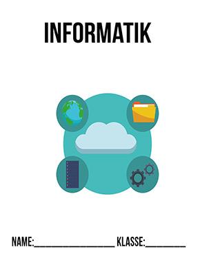 Hier kannst du dir jetzt dein gesuchtes Deckblatt Informatik Klasse 7 schnell und einfach erstellen und kostenlos ausdrucken. Mit deinem persönlichen Deckblatt für deine Hefter, Schulordner und Mappen bist du super organisiert und behältst stehst den Überblick.