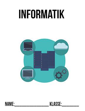 Hier kannst du dir jetzt dein gesuchtes Deckblatt Informatik Klasse 8 schnell und einfach erstellen und kostenlos ausdrucken. Mit deinem persönlichen Deckblatt für deine Hefter, Schulordner und Mappen bist du super organisiert und behältst stehst den Überblick.