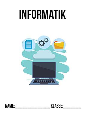 Hier kannst du dir jetzt dein gesuchtes Deckblatt für Informatik schnell und einfach erstellen und kostenlos ausdrucken. Mit deinem persönlichen Deckblatt für deine Hefter, Schulordner und Mappen bist du super organisiert und behältst stehst den Überblick.