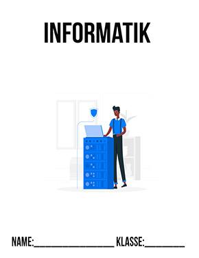 Hier kannst du dir jetzt dein gesuchtes Informatik Deckblatt Klasse 8 schnell und einfach erstellen und kostenlos ausdrucken. Mit deinem persönlichen Deckblatt für deine Hefter, Schulordner und Mappen bist du super organisiert und behältst stehst den Überblick.