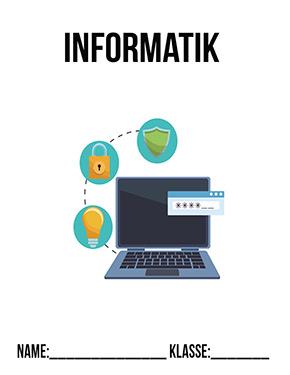 Hier kannst du dir jetzt dein gesuchtes Informatik Deckblatt Realschule schnell und einfach erstellen und kostenlos ausdrucken. Mit deinem persönlichen Deckblatt für deine Hefter, Schulordner und Mappen bist du super organisiert und behältst stehst den Überblick.