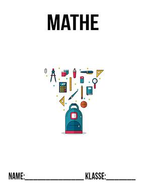 Hier kannst du dir jetzt dein gesuchtes Deckblatt Mathe Klasse 3 schnell und einfach erstellen und kostenlos ausdrucken. Mit deinem persönlichen Deckblatt für deine Hefter, Schulordner und Mappen bist du super organisiert und behältst stehst den Überblick.