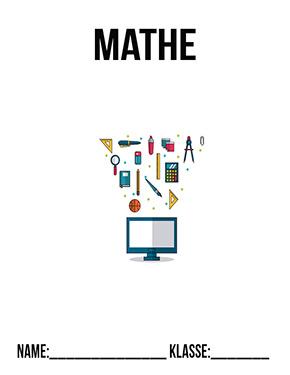 Hier kannst du dir jetzt dein gesuchtes Deckblatt Mathe Klasse 8 schnell und einfach erstellen und kostenlos ausdrucken. Mit deinem persönlichen Deckblatt für deine Hefter, Schulordner und Mappen bist du super organisiert und behältst stehst den Überblick.