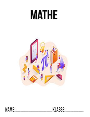 Hier kannst du dir jetzt dein gesuchtes Deckblatt Mathematik Mappe schnell und einfach erstellen und kostenlos ausdrucken. Mit deinem persönlichen Deckblatt für deine Hefter, Schulordner und Mappen bist du super organisiert und behältst stehst den Überblick.