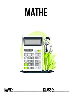Hier kannst du dir jetzt dein gesuchtes Deckblatt für Mathe schnell und einfach erstellen und kostenlos ausdrucken. Mit deinem persönlichen Deckblatt für deine Hefter, Schulordner und Mappen bist du super organisiert und behältst stehst den Überblick.