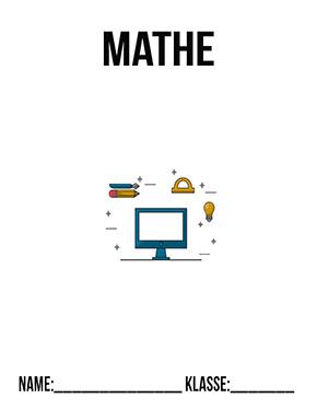 Hier kannst du dir jetzt dein gesuchtes Mathe Deckblatt Klasse 8 schnell und einfach erstellen und kostenlos ausdrucken. Mit deinem persönlichen Deckblatt für deine Hefter, Schulordner und Mappen bist du super organisiert und behältst stehst den Überblick.
