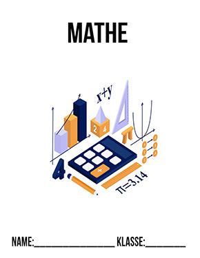 Hier kannst du dir jetzt dein gesuchtes Mathe Deckblatt schnell und einfach erstellen und kostenlos ausdrucken. Mit deinem persönlichen Deckblatt für deine Hefter, Schulordner und Mappen bist du super organisiert und behältst stehst den Überblick.