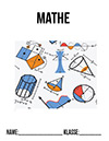 Mathe Portfolio Deckblatt