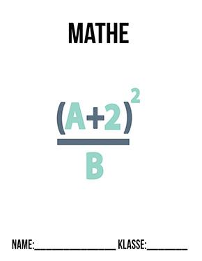Hier kannst du dir jetzt dein gesuchtes Deckblatt Mathematik Brüche schnell und einfach erstellen und kostenlos ausdrucken. Mit deinem persönlichen Deckblatt für deine Hefter, Schulordner und Mappen bist du super organisiert und behältst stehst den Überblick.