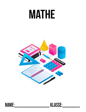 Hier kannst du dir jetzt dein gesuchtes Deckblatt Mathematik Hefter schnell und einfach erstellen und kostenlos ausdrucken. Mit deinem persönlichen Deckblatt für deine Hefter, Schulordner und Mappen bist du super organisiert und behältst stehst den Überblick.