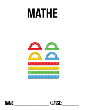 Hier kannst du dir jetzt dein gesuchtes Deckblatt Mathematik Klasse 5 schnell und einfach erstellen und kostenlos ausdrucken. Mit deinem persönlichen Deckblatt für deine Hefter, Schulordner und Mappen bist du super organisiert und behältst stehst den Überblick.