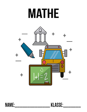 Hier kannst du dir jetzt dein gesuchtes Mathematik Deckblatt Klasse 5 schnell und einfach erstellen und kostenlos ausdrucken. Mit deinem persönlichen Deckblatt für deine Hefter, Schulordner und Mappen bist du super organisiert und behältst stehst den Überblick.