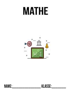 Hier kannst du dir jetzt dein gesuchtes Mathematik Deckblatt Klasse 7 schnell und einfach erstellen und kostenlos ausdrucken. Mit deinem persönlichen Deckblatt für deine Hefter, Schulordner und Mappen bist du super organisiert und behältst stehst den Überblick.