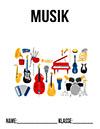 Deckblatt Musik DIN A4