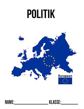 Hier kannst du dir jetzt dein gesuchtes Politik Deckblatt EU schnell und einfach erstellen und kostenlos ausdrucken. Mit deinem persönlichen Deckblatt für deine Hefter, Schulordner und Mappen bist du super organisiert und behältst stehst den Überblick.