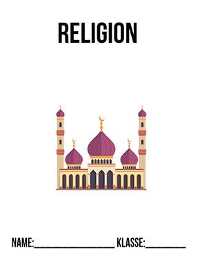 Hier kannst du dir jetzt dein gesuchtes Deckblatt Islam Moschee schnell und einfach erstellen und kostenlos ausdrucken. Mit deinem persönlichen Deckblatt für deine Hefter, Schulordner und Mappen bist du super organisiert und behältst stehst den Überblick.