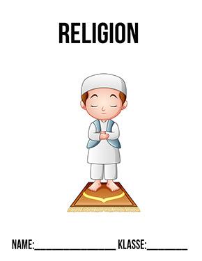 Hier kannst du dir jetzt dein gesuchtes Deckblatt Religion Islam schnell und einfach erstellen und kostenlos ausdrucken. Mit deinem persönlichen Deckblatt für deine Hefter, Schulordner und Mappen bist du super organisiert und behältst stehst den Überblick.