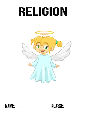 Hier kannst du dir jetzt dein gesuchtes Religion Deckblatt Engel schnell und einfach erstellen und kostenlos ausdrucken. Mit deinem persönlichen Deckblatt für deine Hefter, Schulordner und Mappen bist du super organisiert und behältst stehst den Überblick.