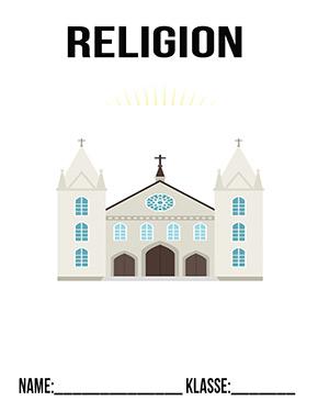 Hier kannst du dir jetzt dein gesuchtes Religion Deckblatt Kirche 1 schnell und einfach erstellen und kostenlos ausdrucken. Mit deinem persönlichen Deckblatt für deine Hefter, Schulordner und Mappen bist du super organisiert und behältst stehst den Überblick.