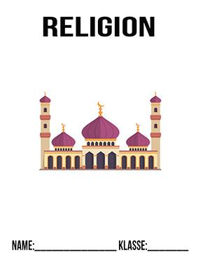 Hier kannst du dir jetzt dein gesuchtes Religion Deckblatt Moschee schnell und einfach erstellen und kostenlos ausdrucken. Mit deinem persönlichen Deckblatt für deine Hefter, Schulordner und Mappen bist du super organisiert und behältst stehst den Überblick.