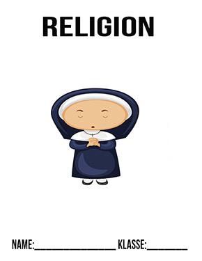 Hier kannst du dir jetzt dein gesuchtes Religion Deckblatt Nonne schnell und einfach erstellen und kostenlos ausdrucken. Mit deinem persönlichen Deckblatt für deine Hefter, Schulordner und Mappen bist du super organisiert und behältst stehst den Überblick.