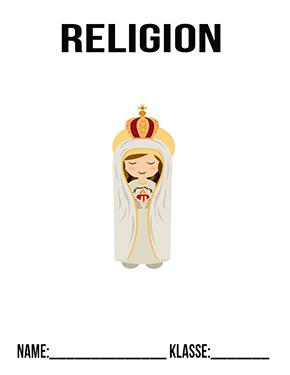Hier kannst du dir jetzt dein gesuchtes Religion Deckblatt heilige Maria schnell und einfach erstellen und kostenlos ausdrucken. Mit deinem persönlichen Deckblatt für deine Hefter, Schulordner und Mappen bist du super organisiert und behältst stehst den Überblick.