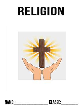 Hier kannst du dir jetzt dein gesuchtes Religion Deckblatt schnell und einfach erstellen und kostenlos ausdrucken. Mit deinem persönlichen Deckblatt für deine Hefter, Schulordner und Mappen bist du super organisiert und behältst stehst den Überblick.
