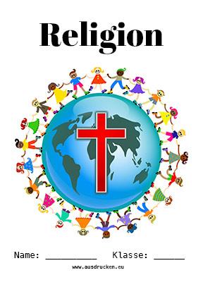 Religion Deckblatt Bibel
