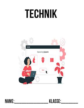 Hier kannst du dir jetzt dein gesuchtes Technik Deckblatt Betriebssystem schnell und einfach erstellen und kostenlos ausdrucken. Mit deinem persönlichen Deckblatt für deine Hefter, Schulordner und Mappen bist du super organisiert und behältst stehst den Überblick.
