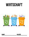 Wirtschaft Deckblatt Recycling