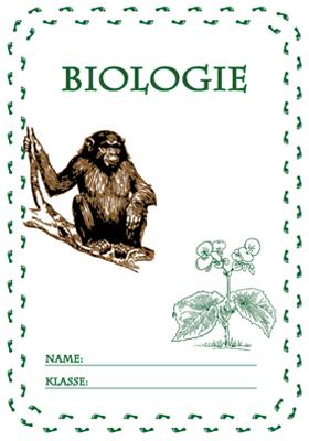 Deckblatt Biologie Ausdrucken