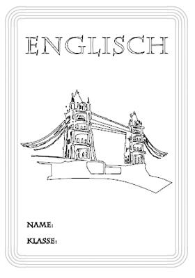 Deckblatt Englisch Ausdrucken