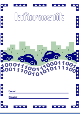 Deckblatt Informatik 1 mit Bites und Bytes