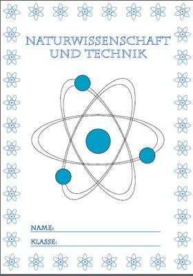 Deckblatt Natur und Technik 1 mit einem Atom