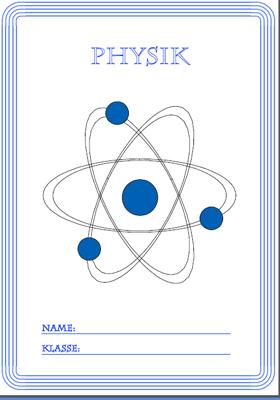 Deckblatt Physik Ausdrucken
