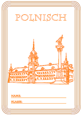 Deckblatt Polnisch Unterricht mit einem Schloss