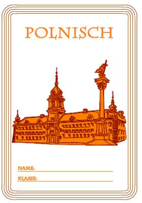 Deckblatt Polnisch mit  einem Schloss
