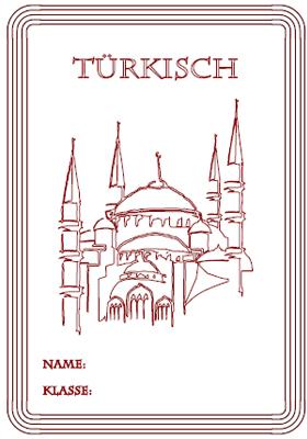 Deckblatt Türkisch 1 mit Moschee in Istanbul