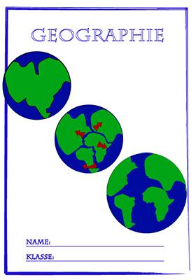 Geographie | Deckblätter ausdrucken