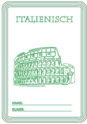 italienisch | deckblätter ausdrucken